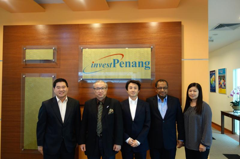 Meeting with the Principal Investment Promotion Agency of the Penang State Government, Malaysia (George Town, Malaysia, November 13, 2014) (images)
